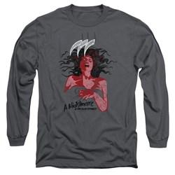 Nightmare On Elm Street - Mens Illustrated European Poster Long Sleeve T-Shirt