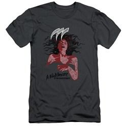 Nightmare On Elm Street - Mens Illustrated European Poster Slim Fit T-Shirt