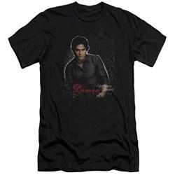 Vampire Diaries - Mens Damon Premium Slim Fit T-Shirt