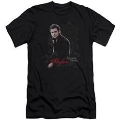 Vampire Diaries - Mens Stefan Premium Slim Fit T-Shirt