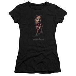 Vampire Diaries - Juniors Damon Fruit Premium Bella T-Shirt