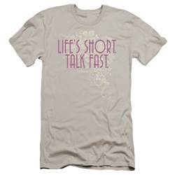 Gilmore Girls - Mens Lifes Short Premium Slim Fit T-Shirt