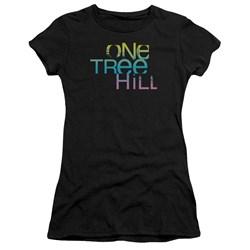 One Tree Hill - Juniors Color Blend Logo Premium Bella T-Shirt