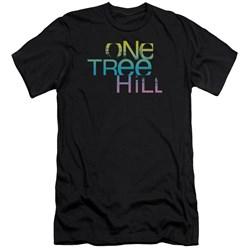 One Tree Hill - Mens Color Blend Logo Premium Slim Fit T-Shirt