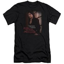Vampire Diaries - Mens Threes A Party Premium Slim Fit T-Shirt