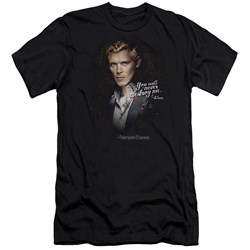 Vampire Diaries - Mens Never Destroy Premium Slim Fit T-Shirt