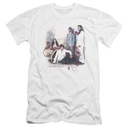 Vampire Diaries - Mens 3 + 1 Premium Slim Fit T-Shirt