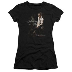 Vampire Diaries - Juniors I Used To Care Premium Bella T-Shirt