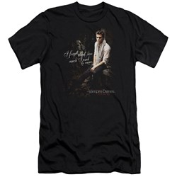 Vampire Diaries - Mens I Used To Care Premium Slim Fit T-Shirt
