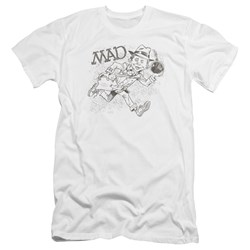 Mad - Mens Sketch Premium Slim Fit T-Shirt