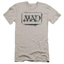 Mad - Mens Stencil Premium Slim Fit T-Shirt