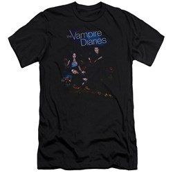 Vampire Diaries - Mens Tempted Premium Slim Fit T-Shirt
