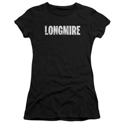 Longmire - Juniors Logo Premium Bella T-Shirt