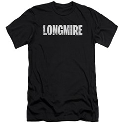 Longmire - Mens Logo Premium Slim Fit T-Shirt