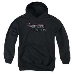 Vampire Diaries - Youth Tvd Logo Pullover Hoodie