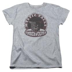 Vampire Diaries - Womens Timberwolves T-Shirt