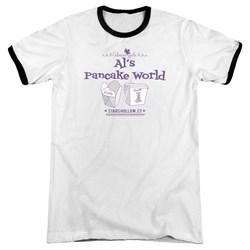 Gilmore Girls - Mens Als Pancake World Ringer T-Shirt