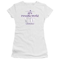 Gilmore Girls - Juniors Als Pancake World Premium Bella T-Shirt