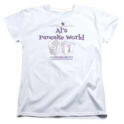 Gilmore Girls - Womens Als Pancake World T-Shirt