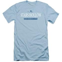 Gilmore Girls - Mens Stars Hollow Slim Fit T-Shirt