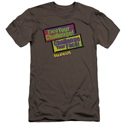 Warheads - Mens Face Your Challenge Premium Slim Fit T-Shirt
