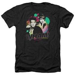 Wham - Mens The Edge Of Heaven Heather T-Shirt