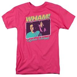 Wham - Mens Careless Whisper T-Shirt