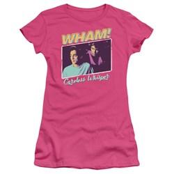 Wham - Juniors Careless Whisper T-Shirt