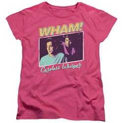 Wham - Womens Careless Whisper T-Shirt