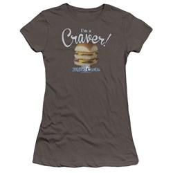 White Castle - Juniors Craver Premium Bella T-Shirt
