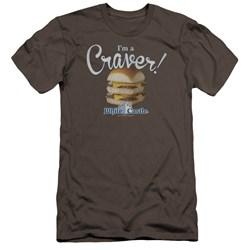 White Castle - Mens Craver Premium Slim Fit T-Shirt