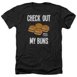 White Castle - Mens My Buns Heather T-Shirt
