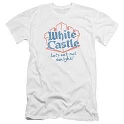 White Castle - Mens Lets Eat Premium Slim Fit T-Shirt