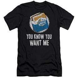 White Castle - Mens Want Me Premium Slim Fit T-Shirt