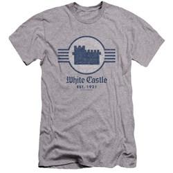 White Castle - Mens Emblem Premium Slim Fit T-Shirt