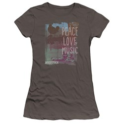Woodstock - Juniors Plm Premium Bella T-Shirt