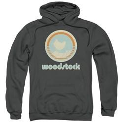 Woodstock - Mens Bird Circle Pullover Hoodie