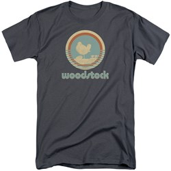 Woodstock - Mens Bird Circle Tall T-Shirt