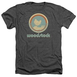 Woodstock - Mens Bird Circle Heather T-Shirt