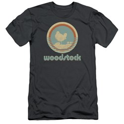 Woodstock - Mens Bird Circle Slim Fit T-Shirt