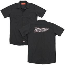 Warrant - Mens Warrant Logo (Back Print) Work Shirt
