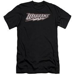 Warrant - Mens Warrant Logo Slim Fit T-Shirt