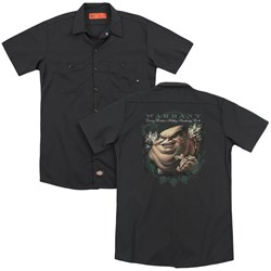 Warrant - Mens Stinking Rich (Back Print) Work Shirt