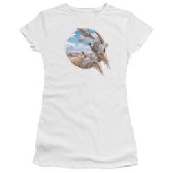 Wildlife - Juniors October Memories Pheasants Premium Bella T-Shirt