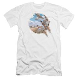 Wildlife - Mens October Memories Pheasants Premium Slim Fit T-Shirt