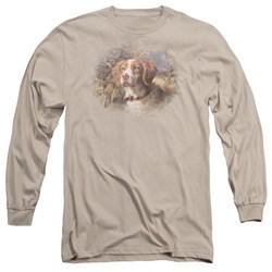Wildlife - Mens Brittany Head Ii Long Sleeve T-Shirt