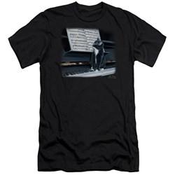 Wildlife - Mens Kitten On The Keys Premium Slim Fit T-Shirt