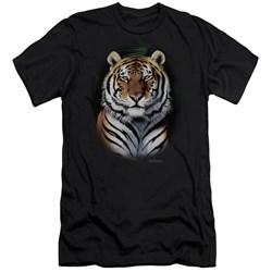 Wildlife - Mens Jungle Fire Premium Slim Fit T-Shirt