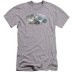 Wildlife - Mens High Trails Dall Sheep Premium Slim Fit T-Shirt