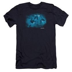 Wildlife - Mens Pod Of Orcas Premium Slim Fit T-Shirt
